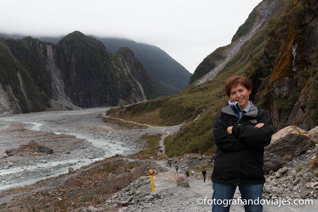 Caminata hasta el glaciar Fox