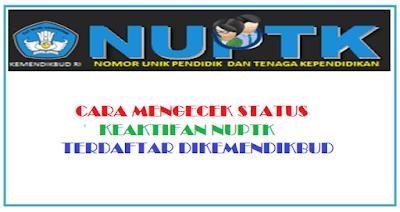 Cara Cek NUPTK 2019 Terdaftar di Kemendikbud