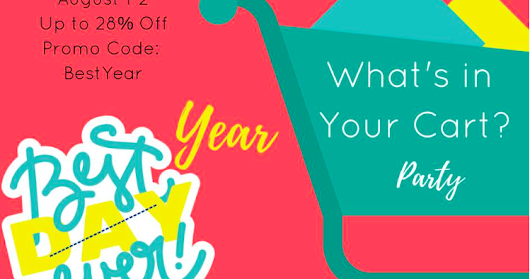 What's in Your Cart~ Linky Party