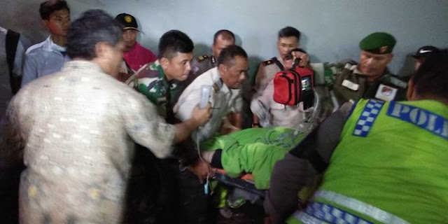 Cerita tim Basarnas 12 jam semangati korban tertimbun beton di Bandara