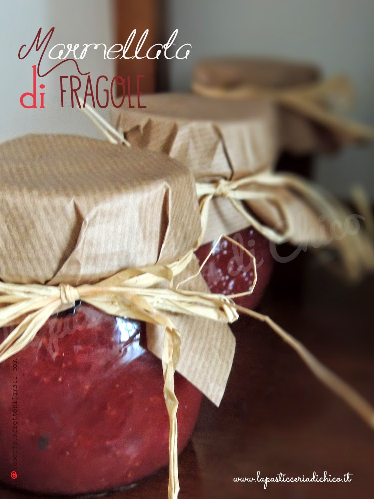 Marmellata d Fragole - www.lapasticceriadichico.it