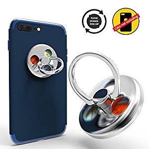 Ring Stands with Hand Fidget Spinner Knob Portion Function for Smart Cellphone Mount