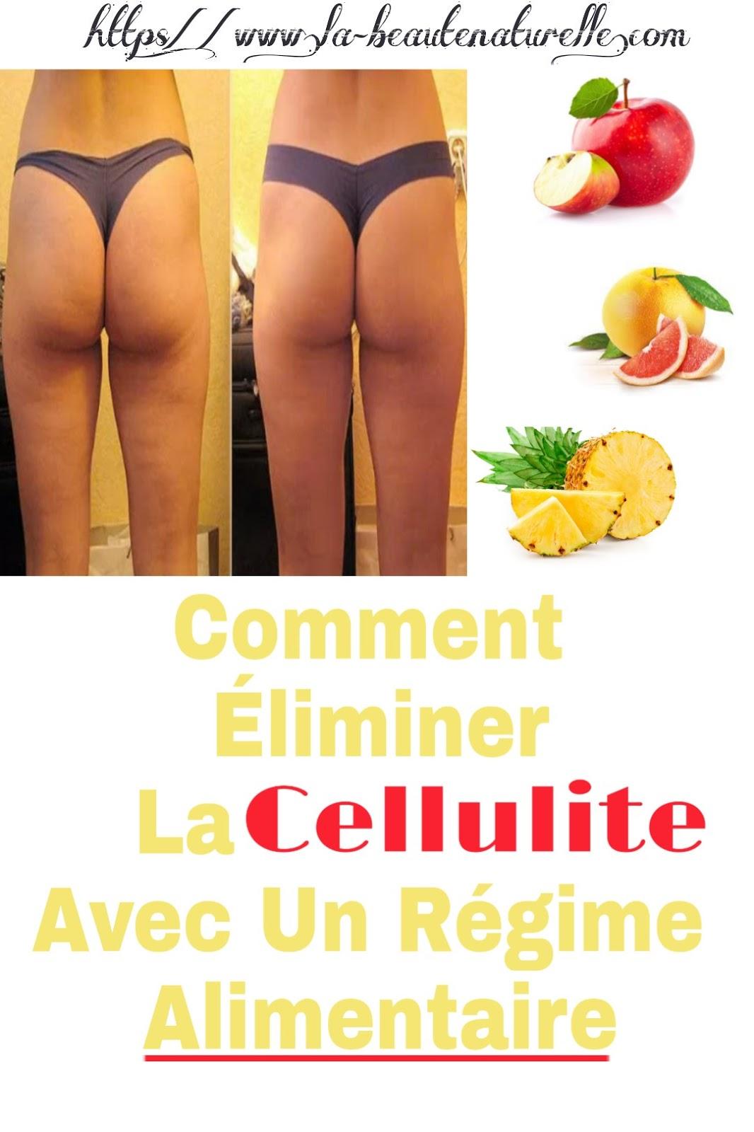 Comment Éliminer La Cellulite Avec Un Régime Alimentaire