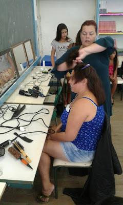 Virada Feminina é sucesso na Escola da Família da Escola Yolanda