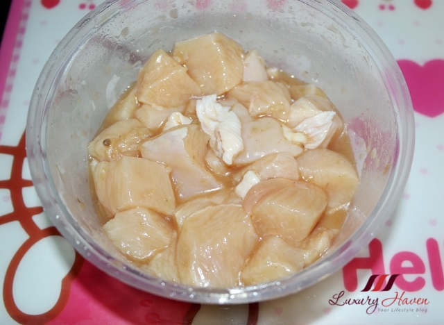 how to cook chinese style chicken cubes