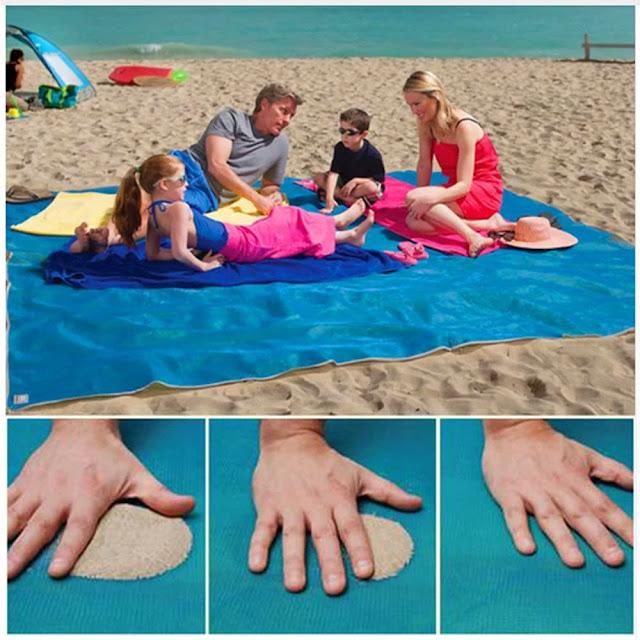 Uma toalha de praia para todas as encomendas