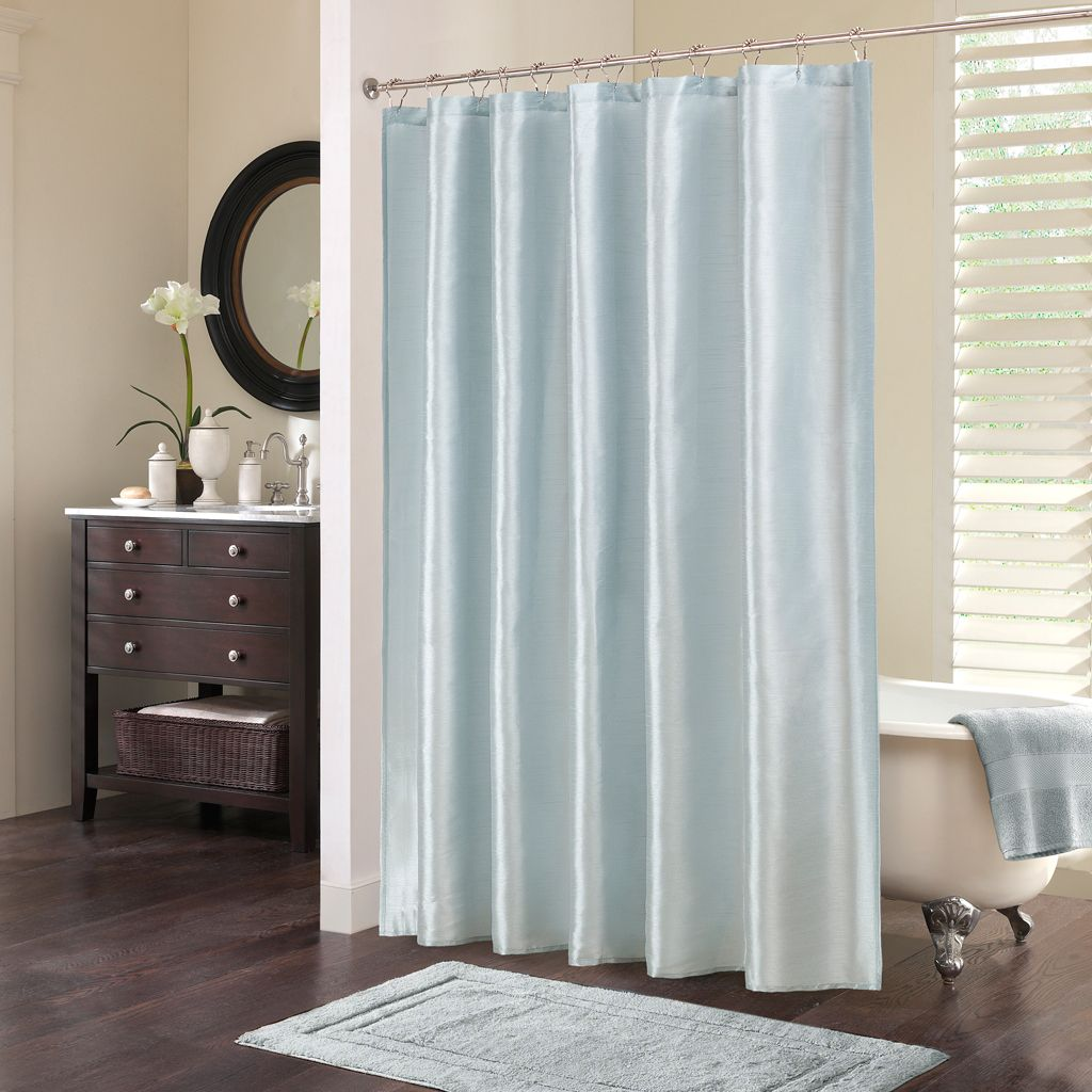 Blue bathroom curtains - Light Blue Shower Curtain Modern Shower Curtain Email Thisblogthis