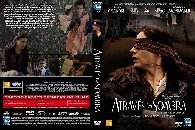 Capa DVD Através da Sombra [Exclusiva]