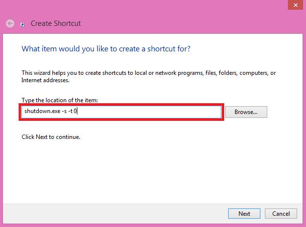 Cara Membuat Tombol Shutdown di Windows 8