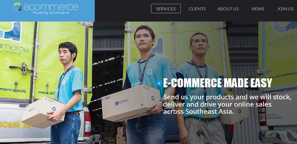 [跨境電商]Lazada、LINE搶攻泰國市場就靠它:電商軍火商aCommerce