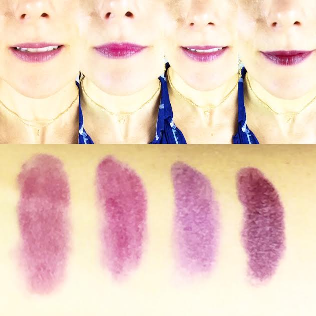 Rouge à lèvres Revlon: j'ai testé 4 nuances de mauve