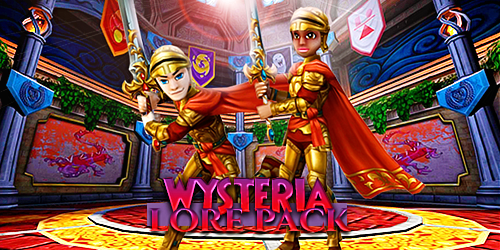 Wizard101 Wysteria's Lore Pack