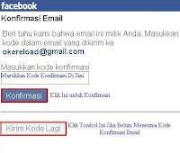 Cara Daftar Facebook dengan Menggunakan Email