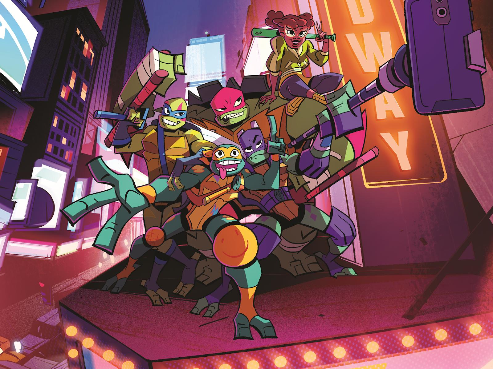\ Nickelodeon Rise of the Teenage Mutant Ninja Turtles Leonardo NEW Comme neuf sur Scellé carte