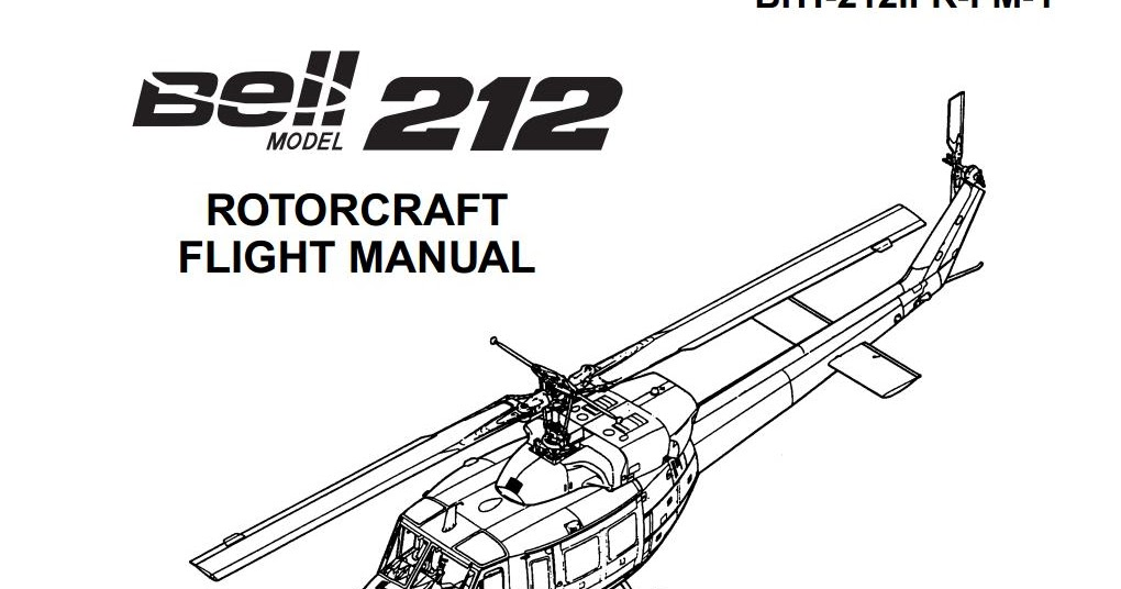 ARQUIVOS AERONÁUTICOS: Rotorcraft Bell 212 Flight Manual IFR