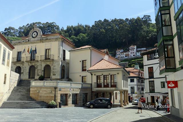 Ayuntamiento de Cudillero, plaza San Pedro