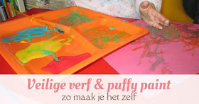 veilige verf puffy paint