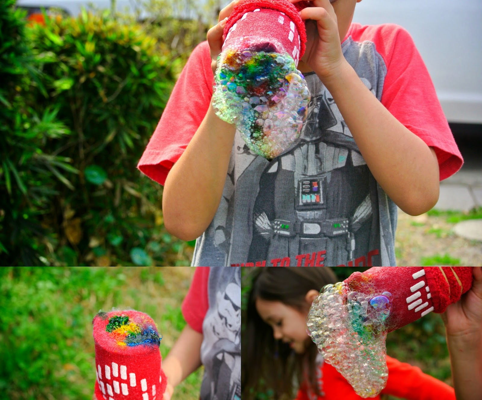Bubble Snakes, Outdoor Activities