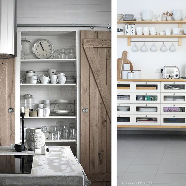 storage ideas kitchen • the round button blog
