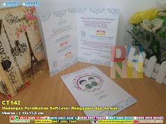 Undangan Pernikahan Softcover Rengganis Dan Anwar