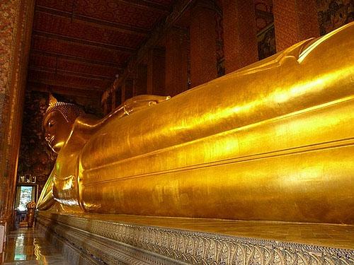 reclining buddha thailand, reclining buddha bangkok, the reclining buddha, temple of the reclining buddha, wat pho, reclining buddha statue, buddha statue thailand, thai reclining buddha