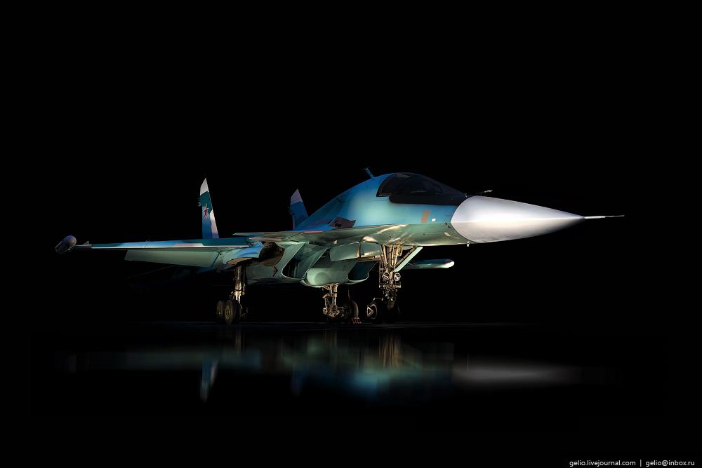 Как производят Су-34