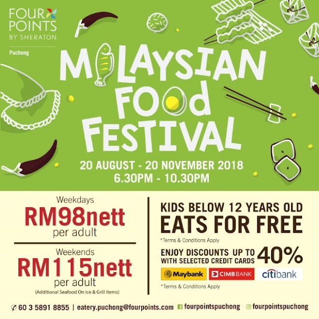 Malaysian Food Festival Buffet Prices