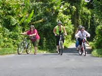 Bali-village-cycling