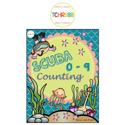 https://www.teacherspayteachers.com/Product/Scuba-Counting-0-9-2005236