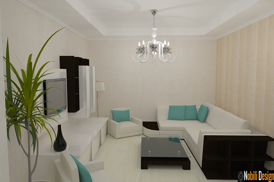 Design interior living open space apartament 4 camere-Design Interior-Amenajari Interioare-Bucuresti
