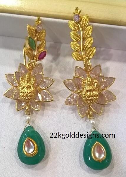 Designer Lakshmi Earrings