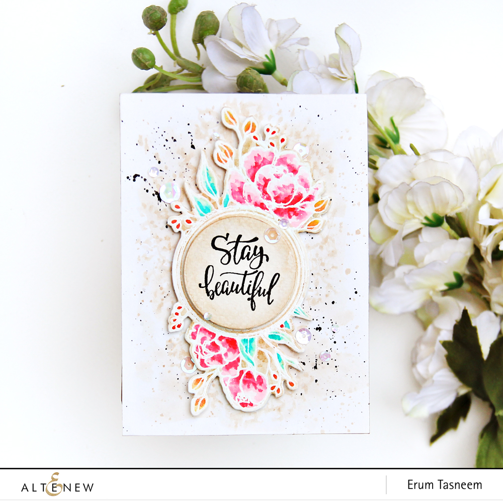 Altenew Book Club Stamp Set | Erum Tasneem | @pr0digy0