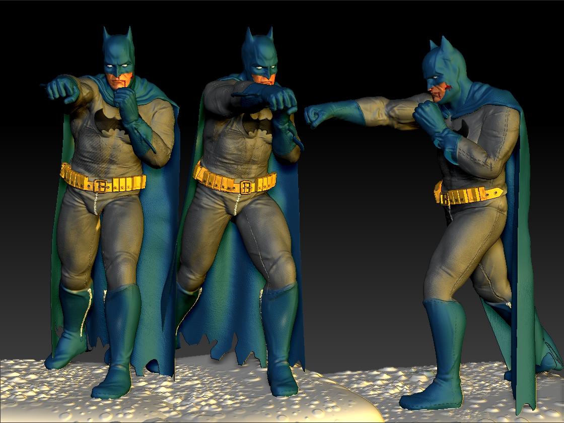 Batman colecionável 3d