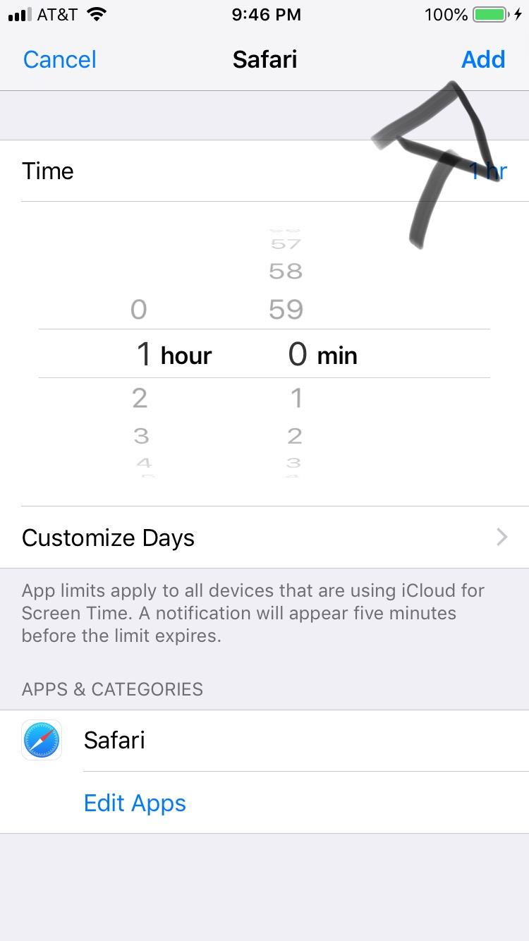 Screen time not blocking YouTube, Safari, Instagram :iOS 12