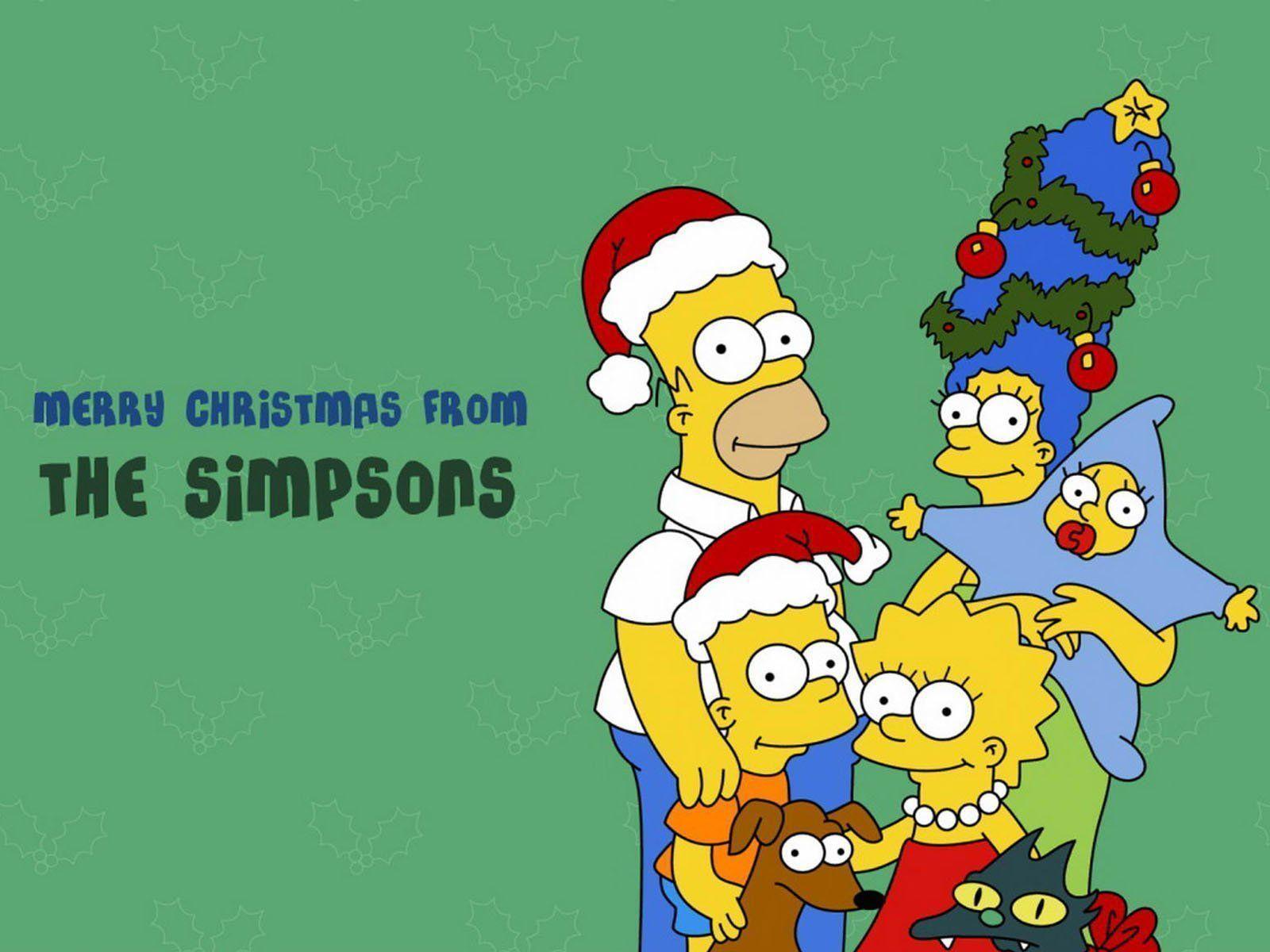 33 Simpsons Christmas Wallpaper | MagOne 2016