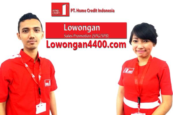 Loker Sales Promotion ( SPG-SPB ) PT Home Credit Indonesia Juli 2017