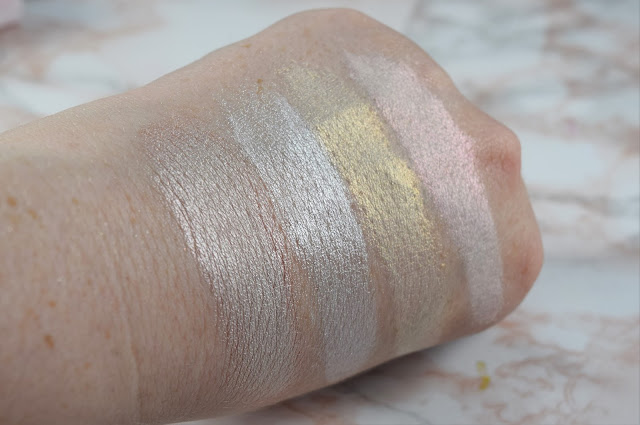 Sara Hill Makeup Pink Opal Collection Swatches