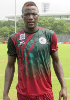 Photo: Nigerian Footballer Arrested In India For visa Forgery