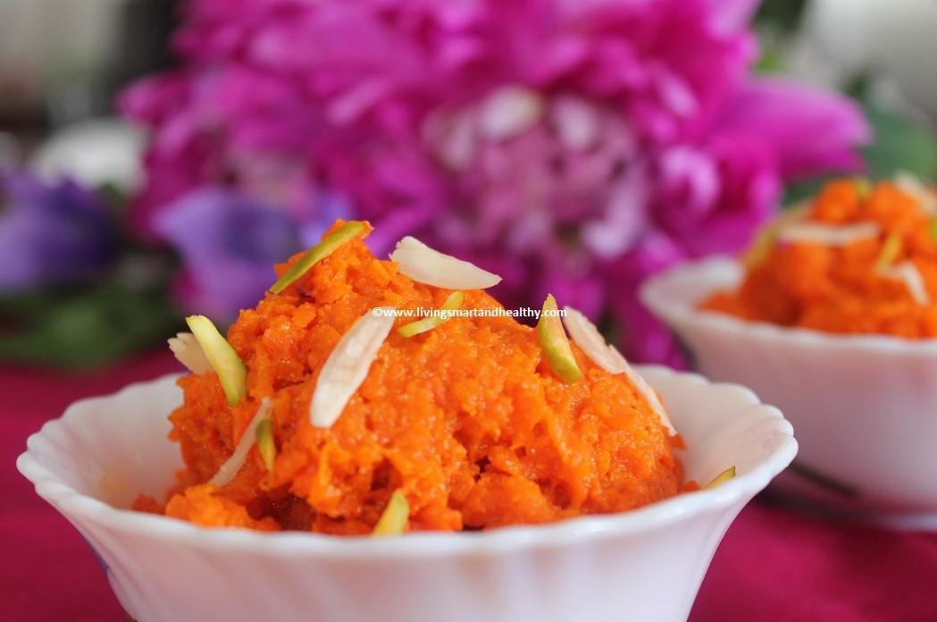Carrot Halwa / Gajar Ka Halwa - Instant Pot