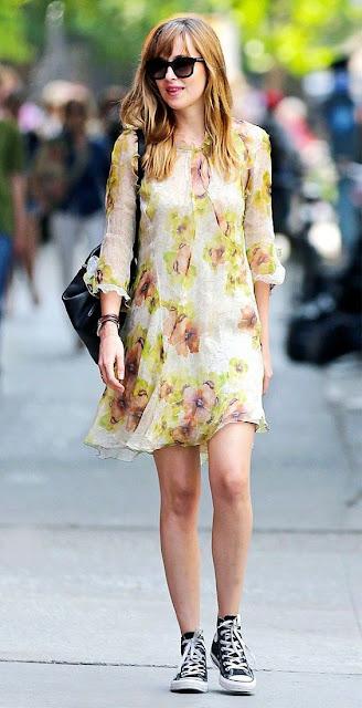 Vestido floral pastel