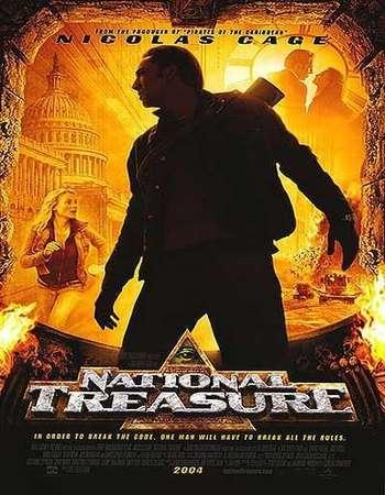national treasure 2004 hindi dual audio 300mb 720p hevc