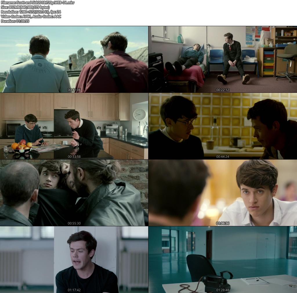 Scott and Sid 2018 720p WEB-DL   300MB 480p   100MB HEVC Screenshot
