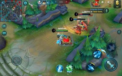 Tampilan Game Mobile Legends: Bang bang