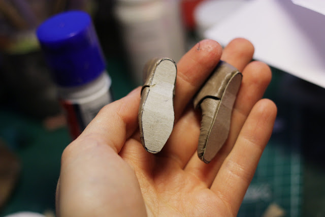 How to make 1/6 scale boots for a doll or action figure