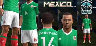 Mexico Home Kit Copa Centenario 2016 By KIMO T.L.B 19