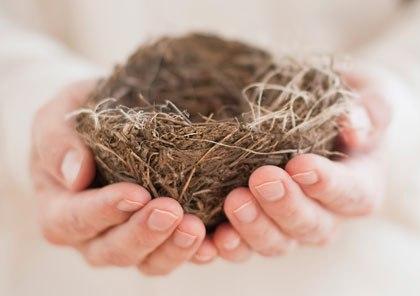 y el nido quedo completamente vacío doble dolor, no hay vida que alcance  para calmarlo, para llenarlo.