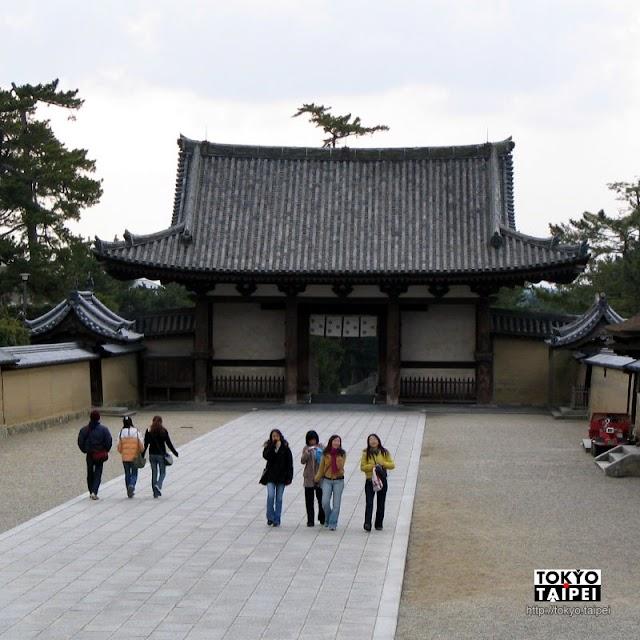 【法隆寺】全球最老現存木造建物 日本最初世界遺產