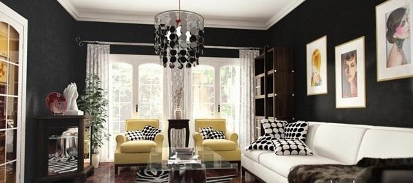 Dise os de salas modernas elegantes ideas para decorar for Decoracion de casas modernas y elegantes