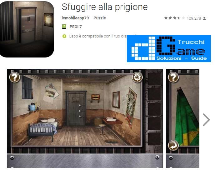 Soluzioni Escape The Prison Room  di tutti i livelli | Walkthrough guide