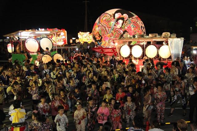 Tsugaru Nebuta Matsuri, First Nebuta in Aomori